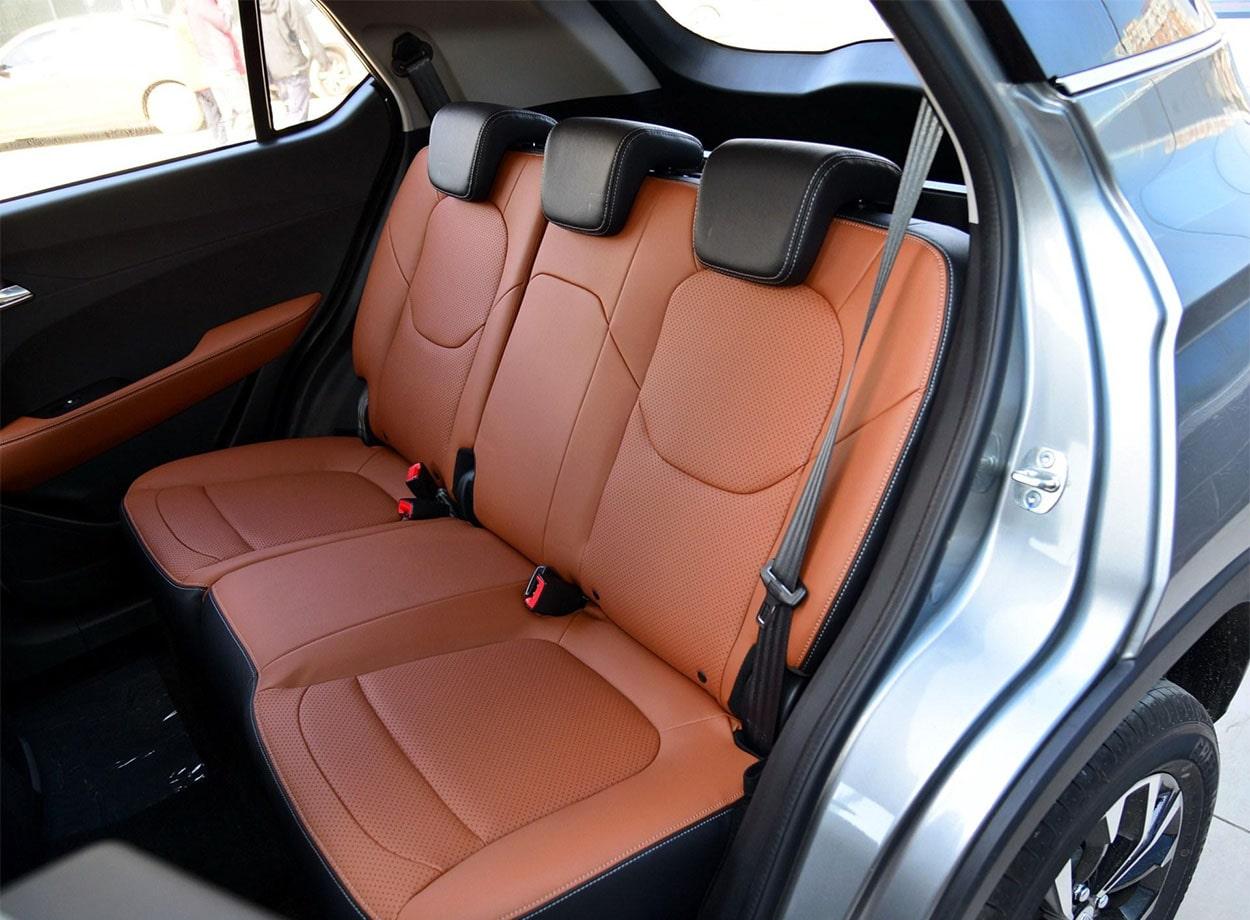 Baojun 510 задние сидения
