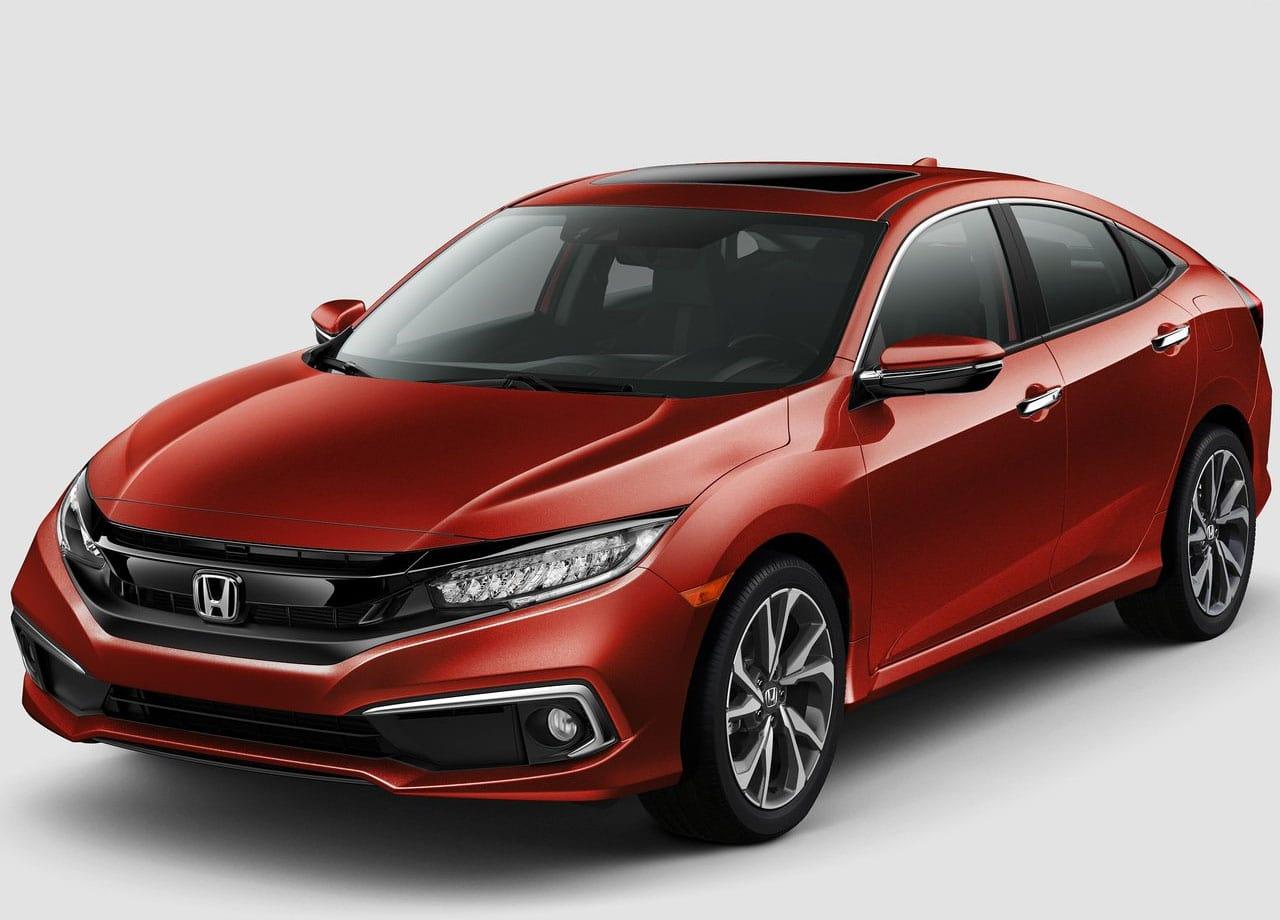 Honda Civic фото спереди