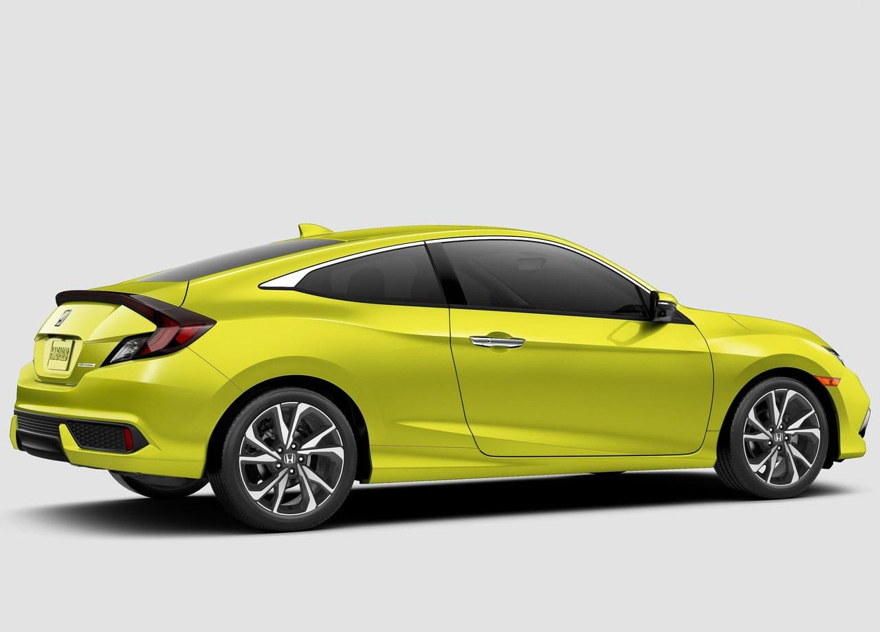 Honda Civic купе сбоку