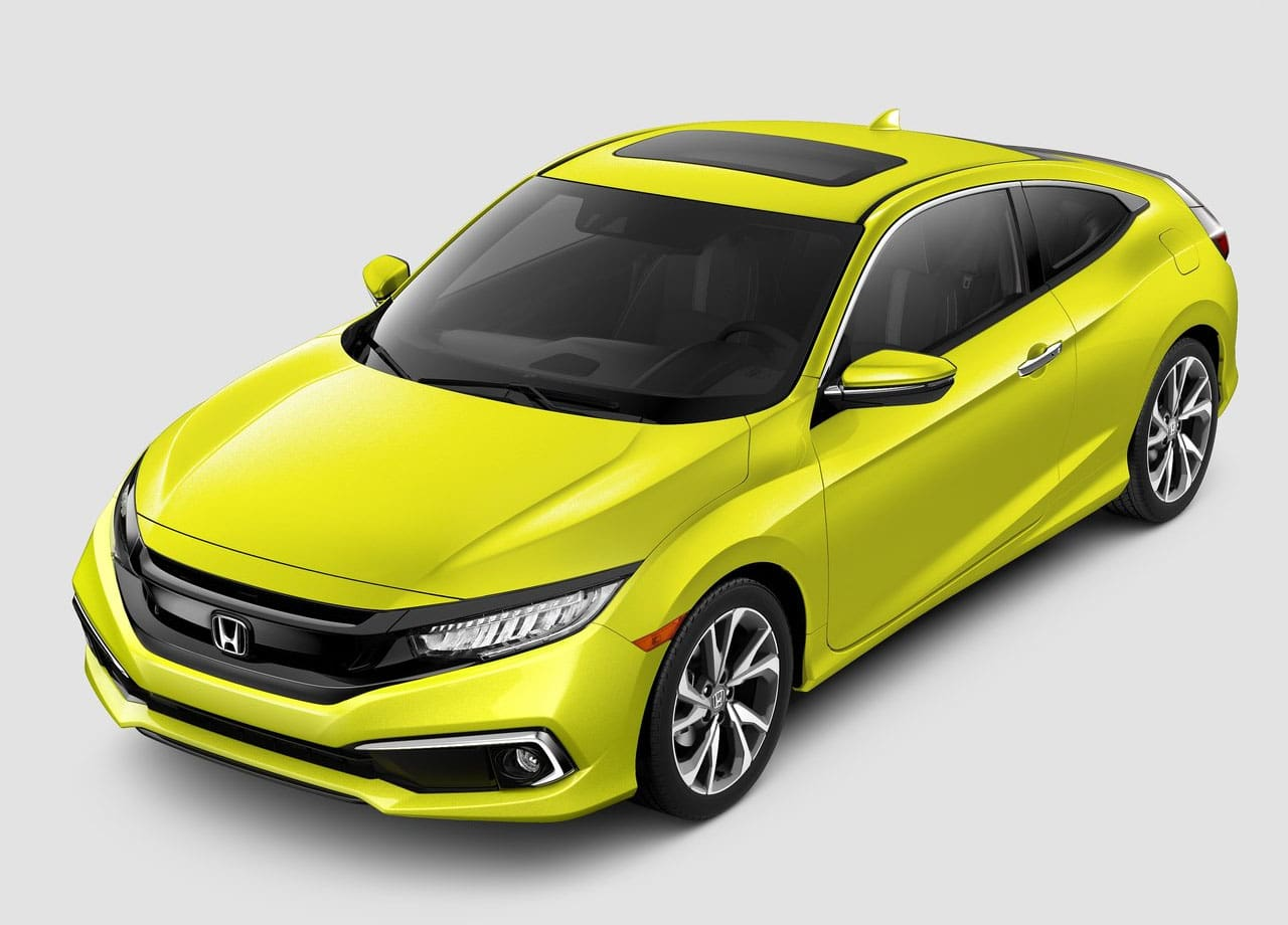 Honda Civic купе спереди