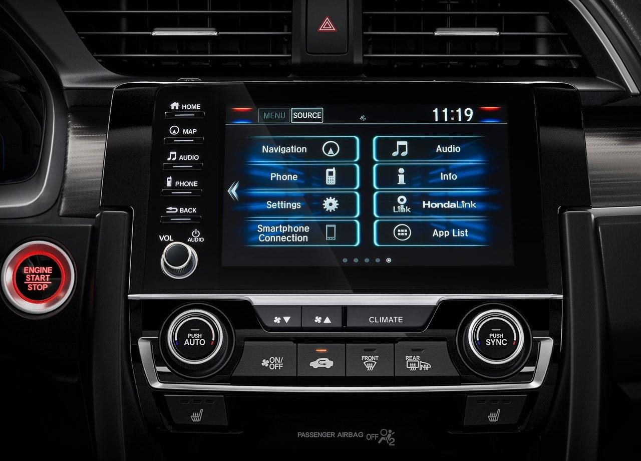 Honda Civic мультимедиа