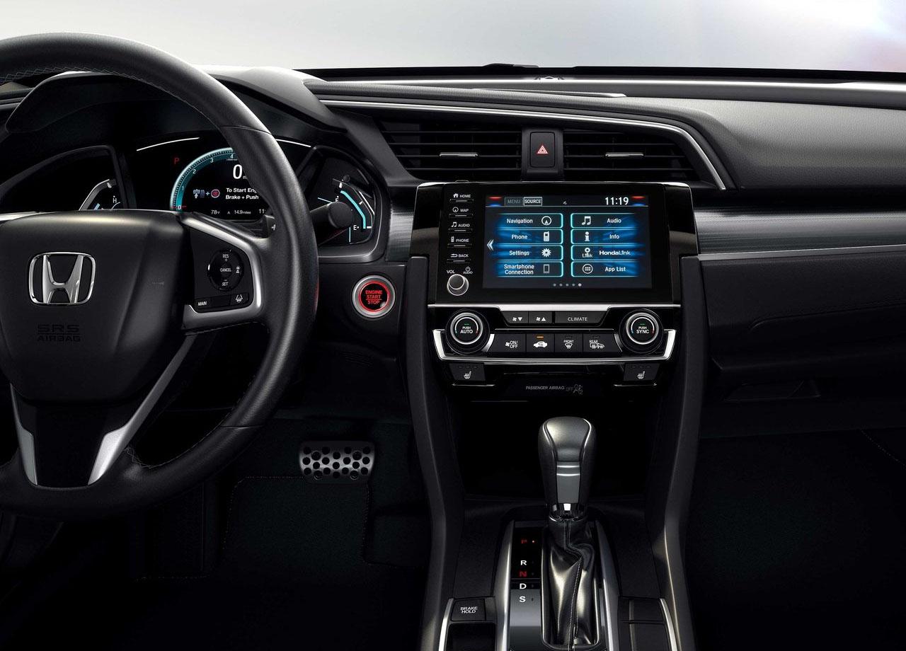 Honda Civic приборная панель