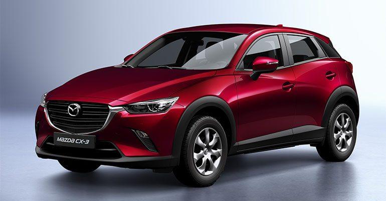 Mazda CX-3 фот спереди