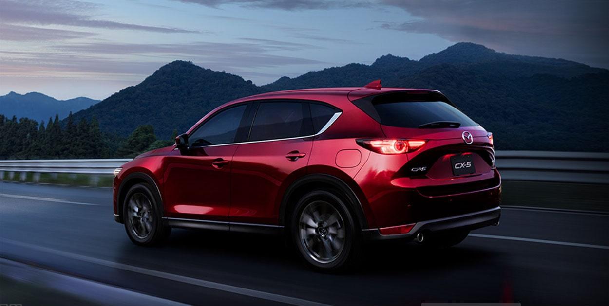 Mazda CX-5 фото сзади