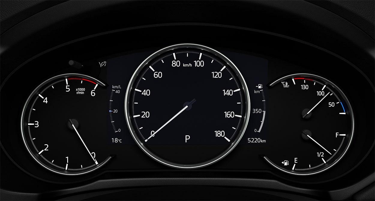 Mazda CX-5 приборная панель