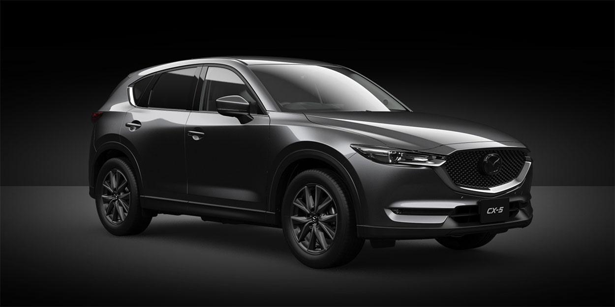 Mazda CX-5 тёмно серый