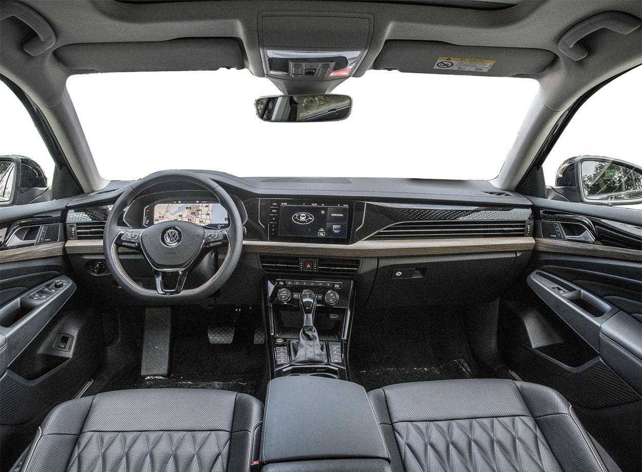 Volkswagen Passat салон