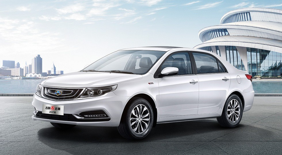 Geely Vision GC7 фото