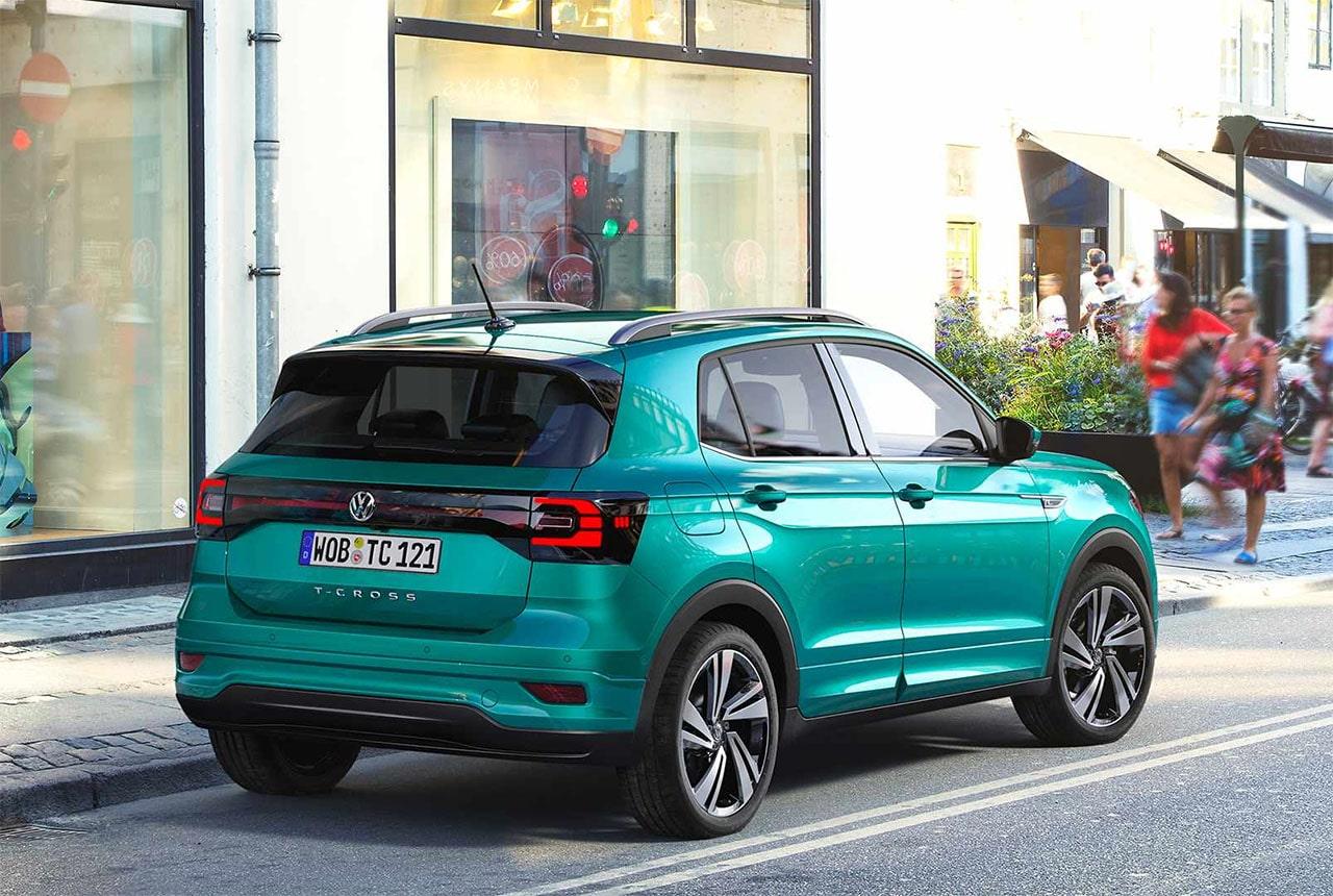 VolkswagenTCross фото сзади