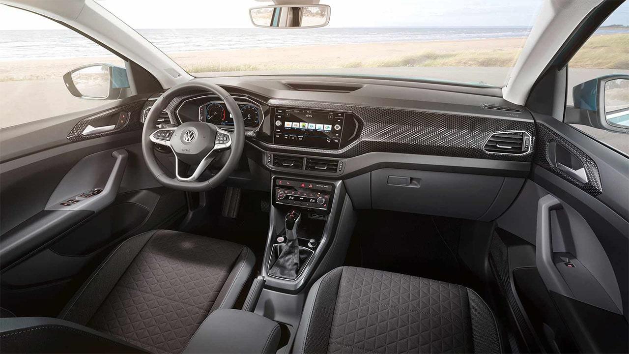 VolkswagenTCross вид салон