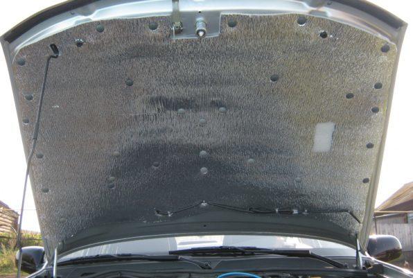 Самостоятельное утепление капота в машине
