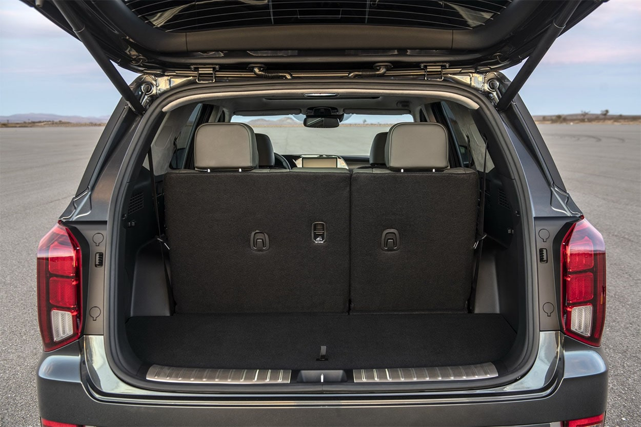 Hyundai Palisade багажник