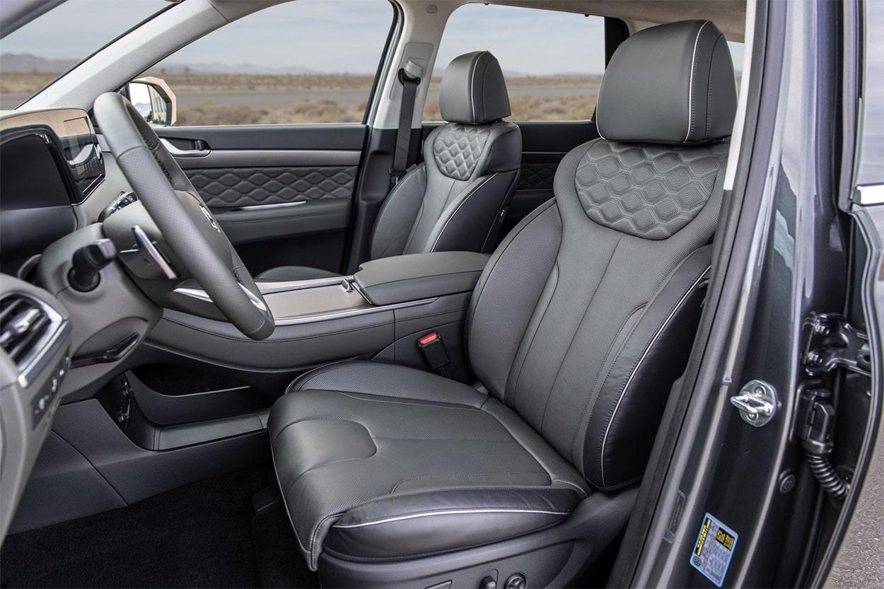 Hyundai Palisade передние сидения