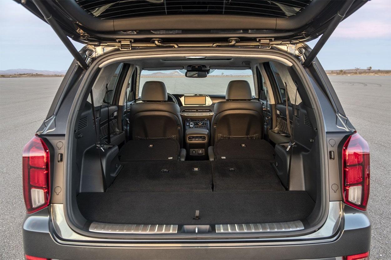 Hyundai Palisade вид багажник