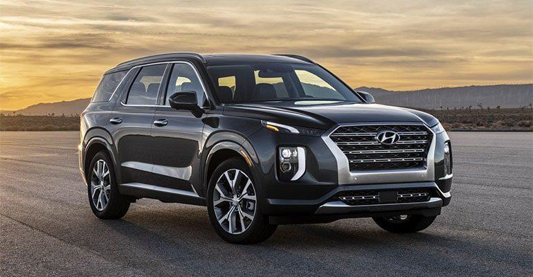 Hyundai Palisade вид спереди