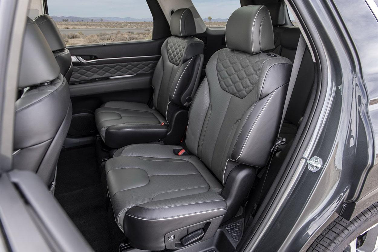 Hyundai Palisade задние сидения