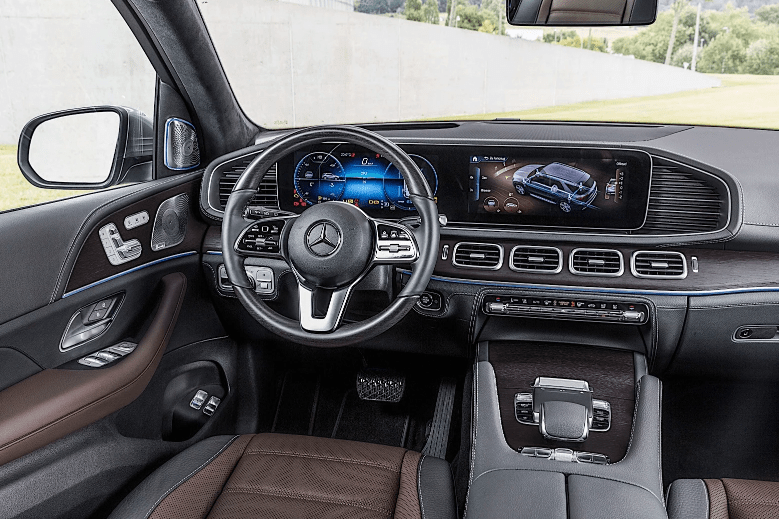 Mercedes-Benz gle 450 салон