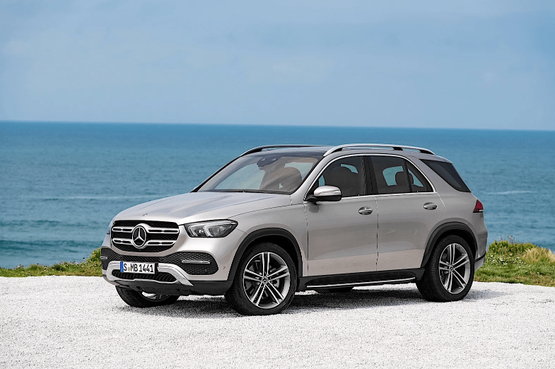 Mercedes-Benz gle 450 вид сбоку