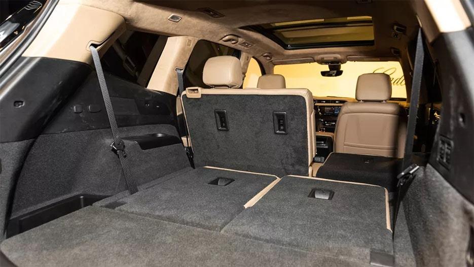 Cadillac XT6 багажник