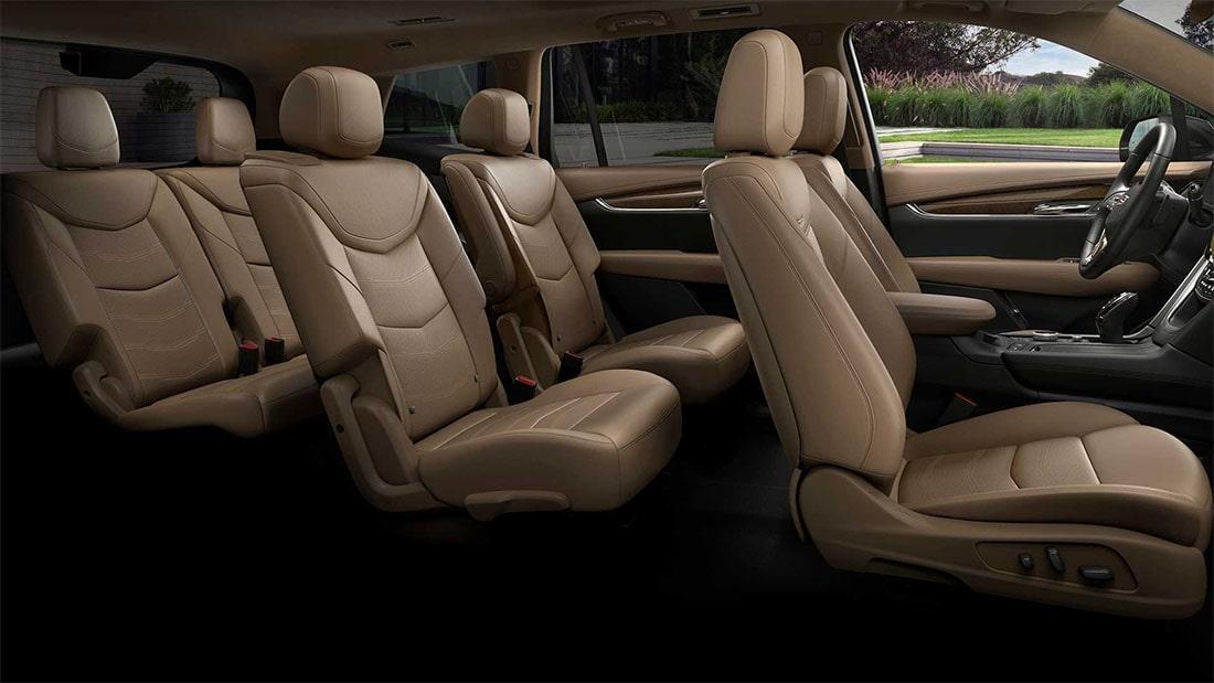 Cadillac XT6 салон