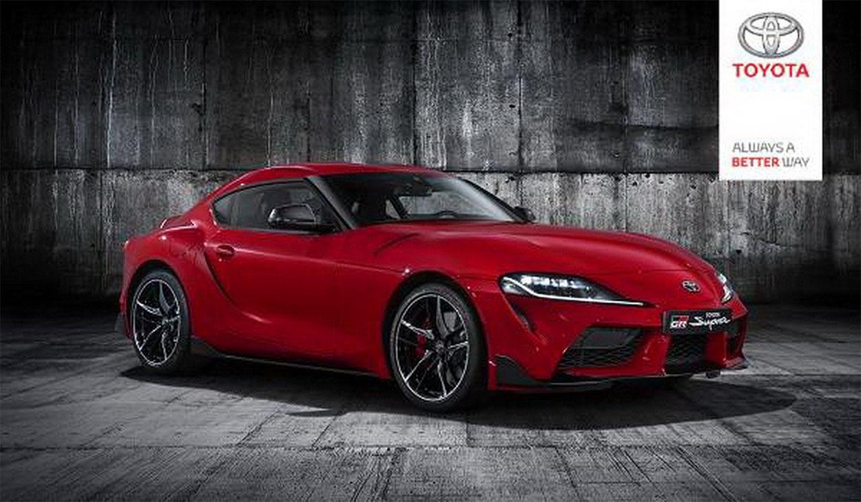 Детройтский автосалон 2019 Toyota