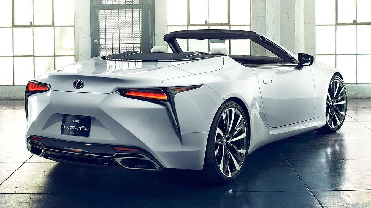 Lexus LC Convertible бампер