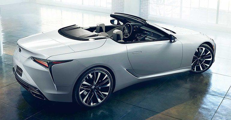 Lexus LC Convertible фото
