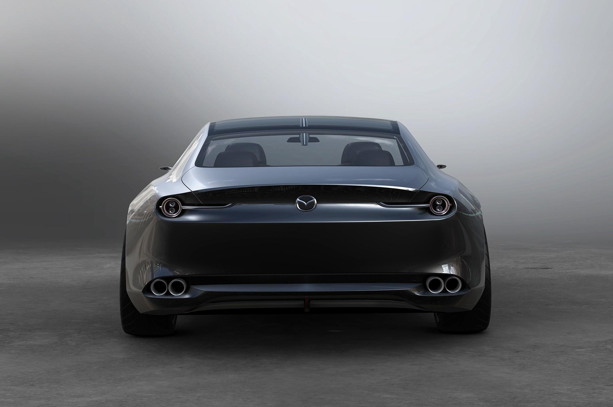 Mazda Vision Coupe бампер