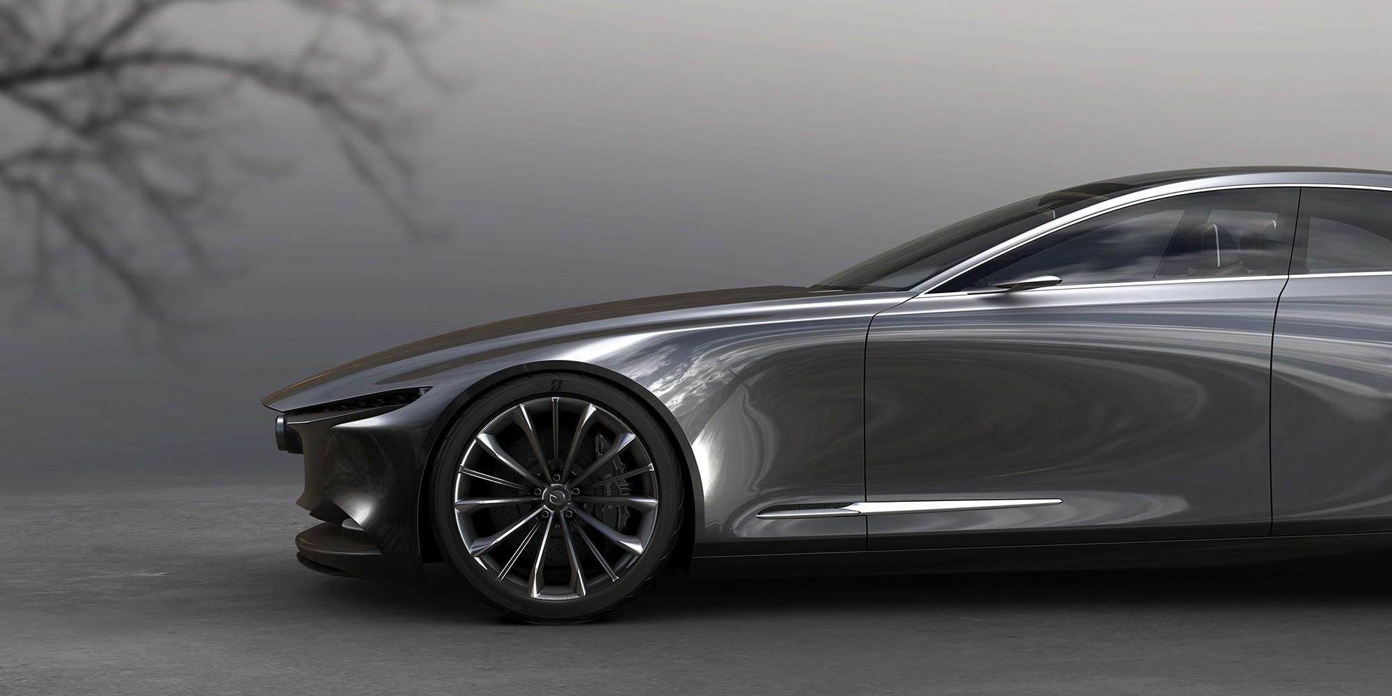 Mazda Vision Coupe детали