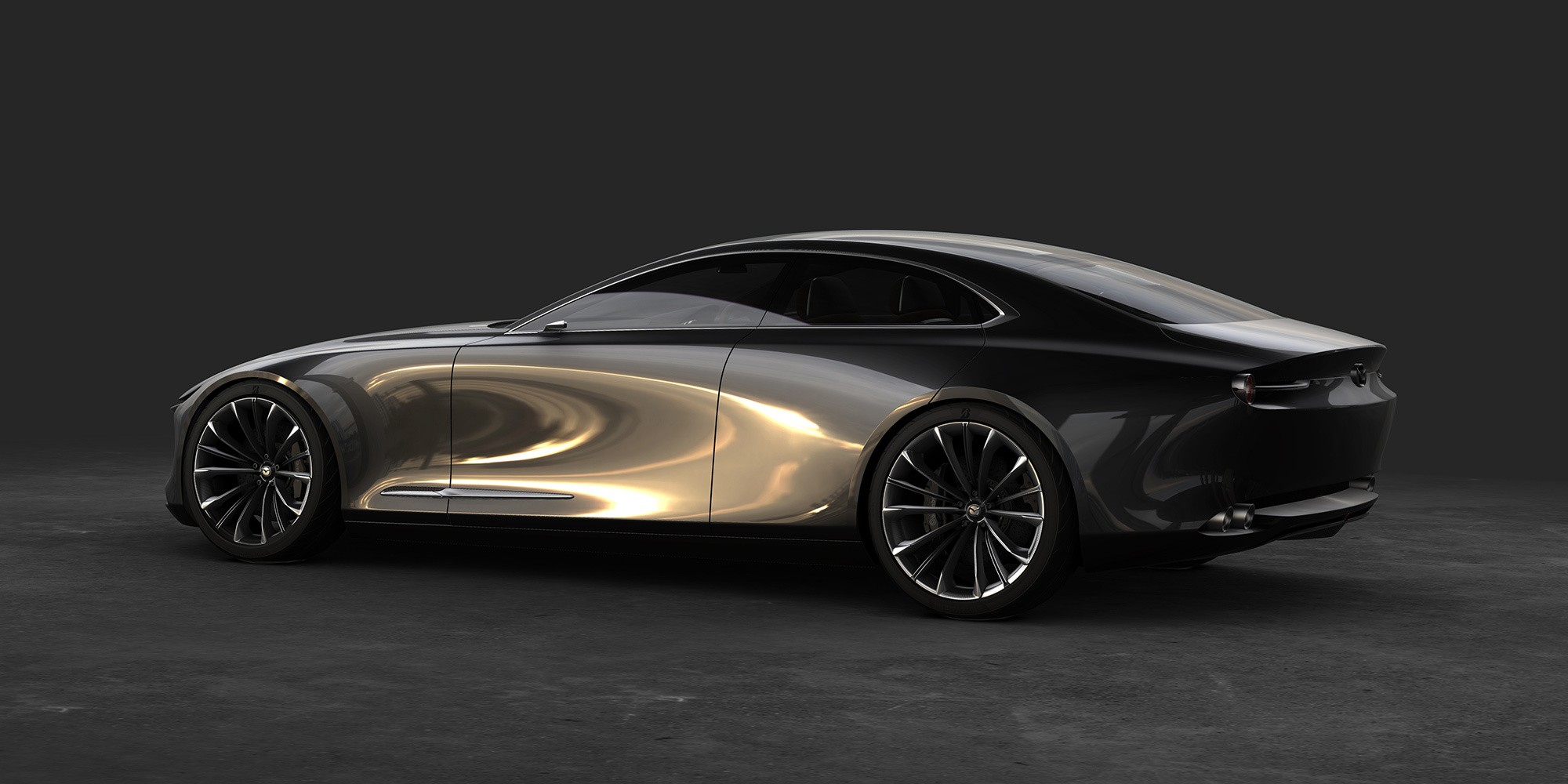 Mazda Vision Coupe фото сбоку