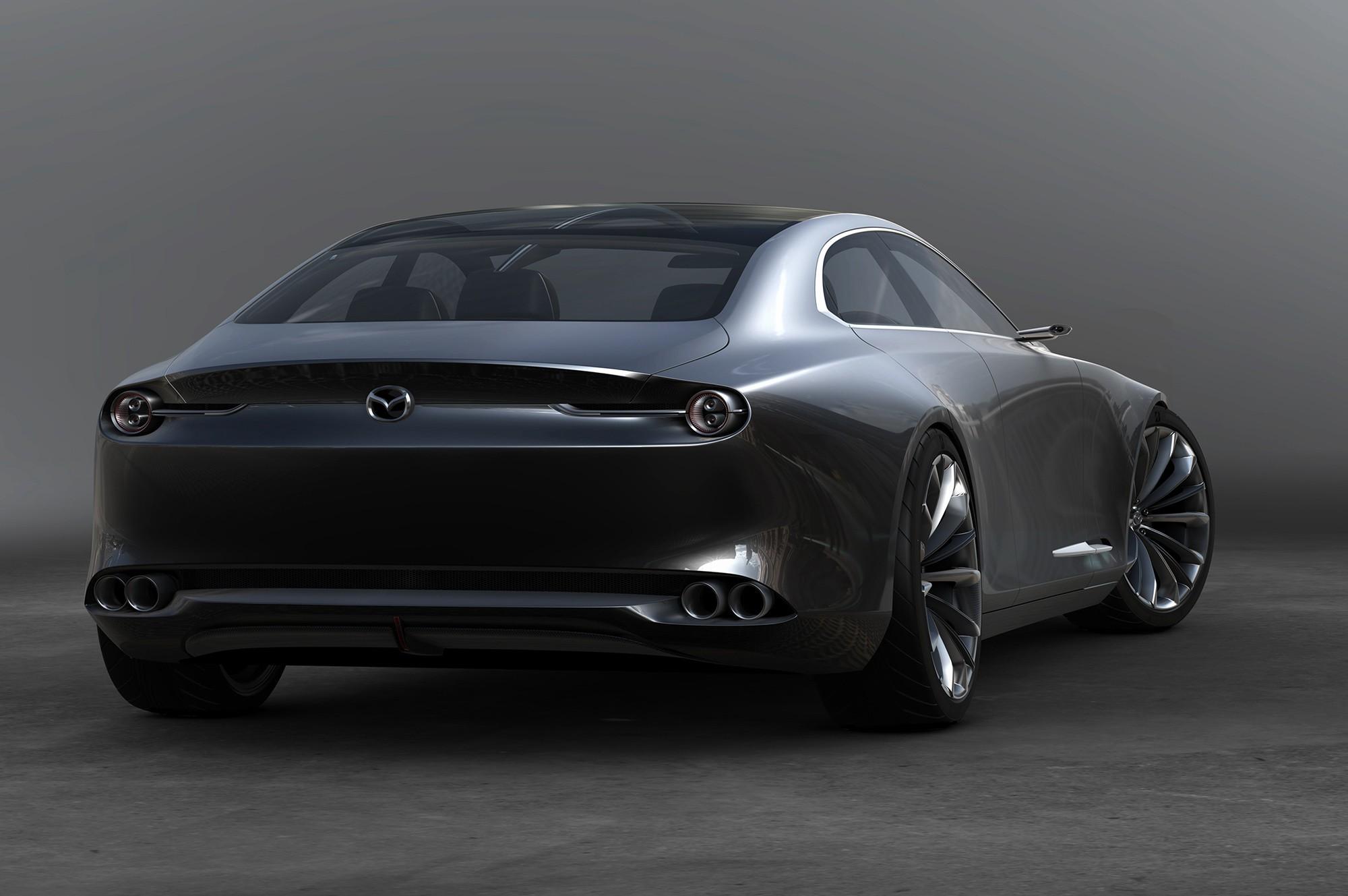 Mazda Vision Coupe фото сзади