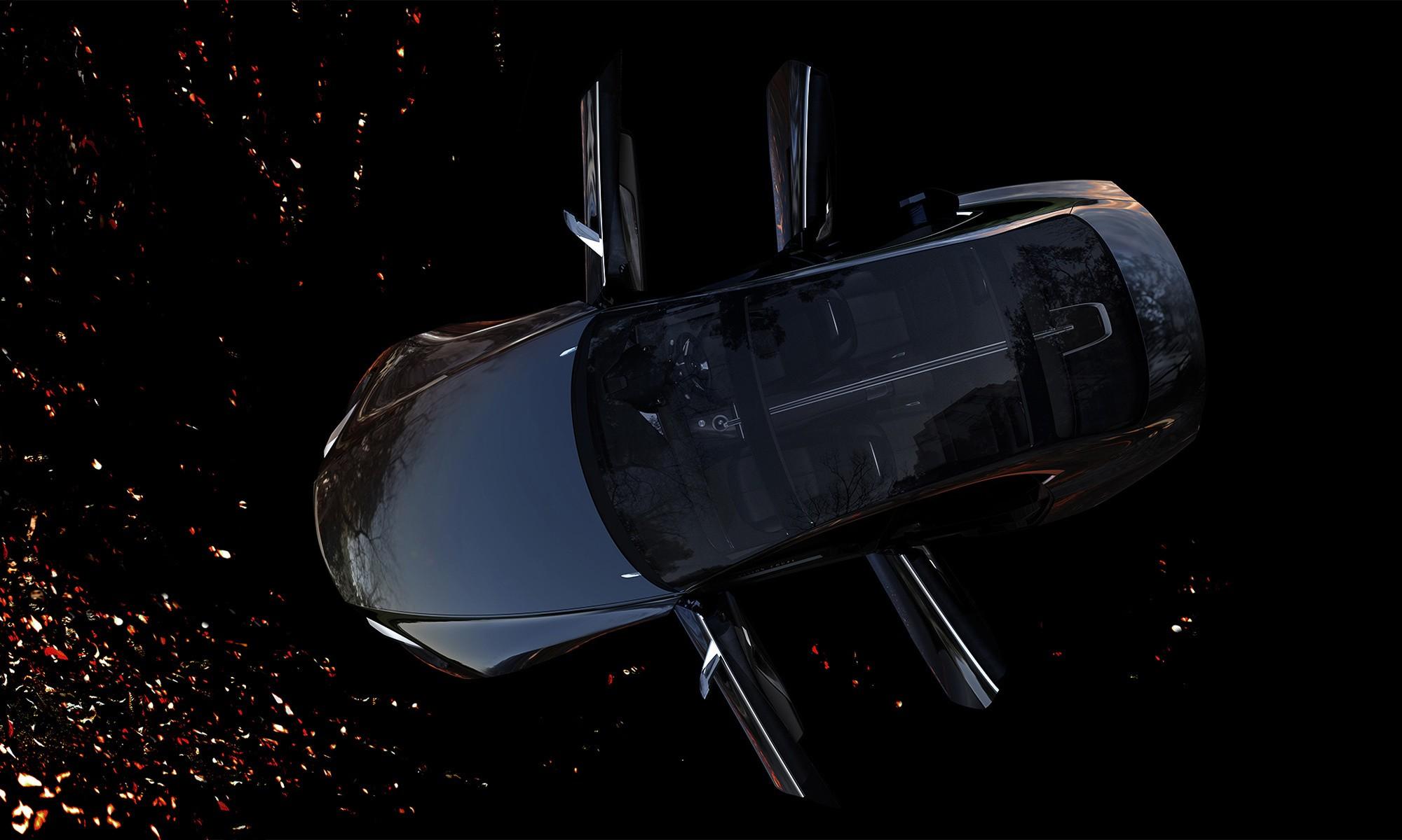 Mazda Vision Coupe панорамная крыша