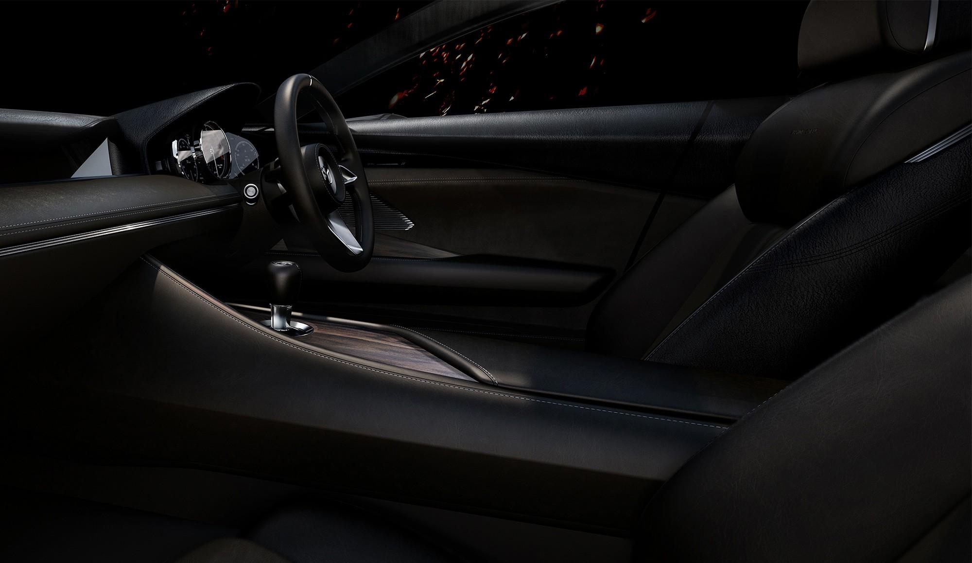 Mazda Vision Coupe передние сидения
