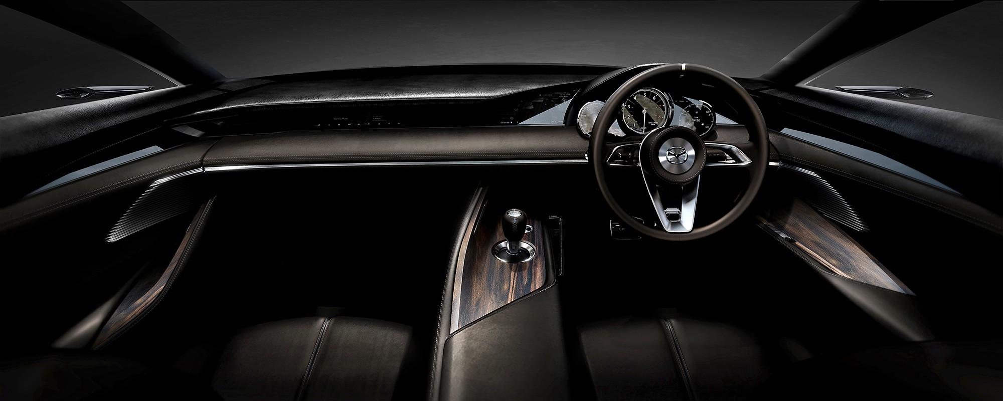Mazda Vision Coupe салон