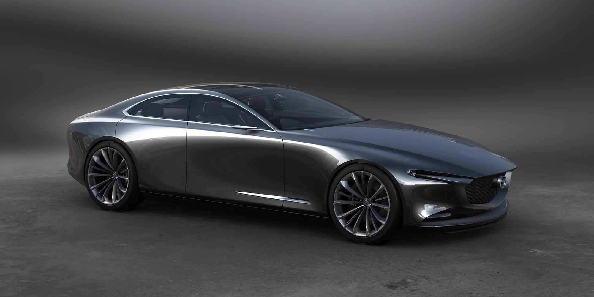 Mazda Vision Coupe сбоку