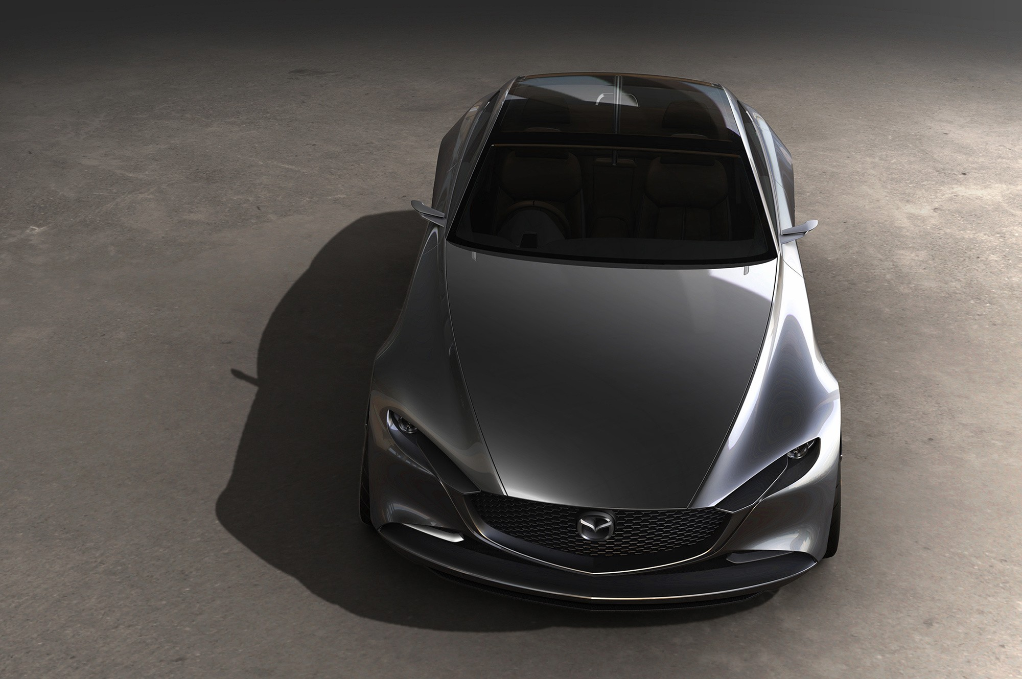 Mazda Vision Coupe сверху