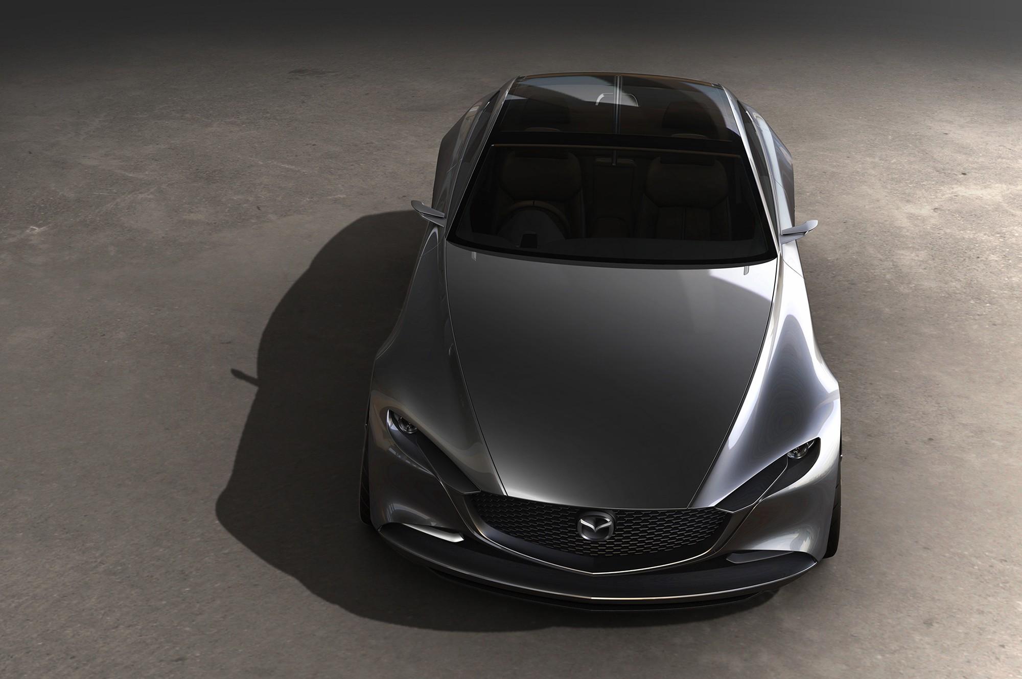 Mazda Vision Coupe сверху
