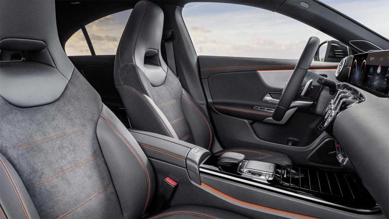 Mercedes-Benz CLA передне сидения
