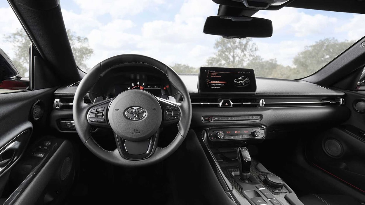 Toyota Supra вид салон