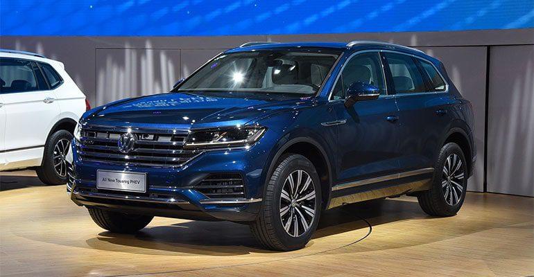 Volkswagen Touareg Phev фото
