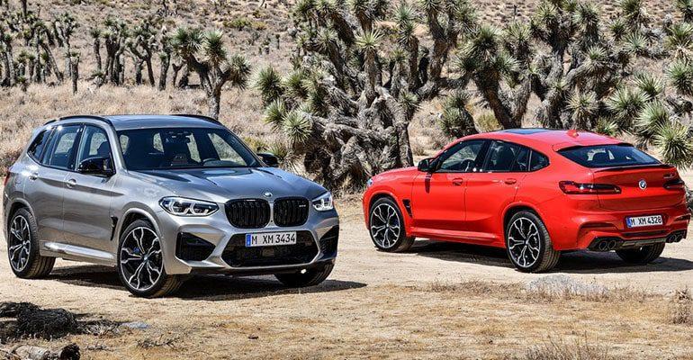 BMW X3 M и BMW X4 M фото