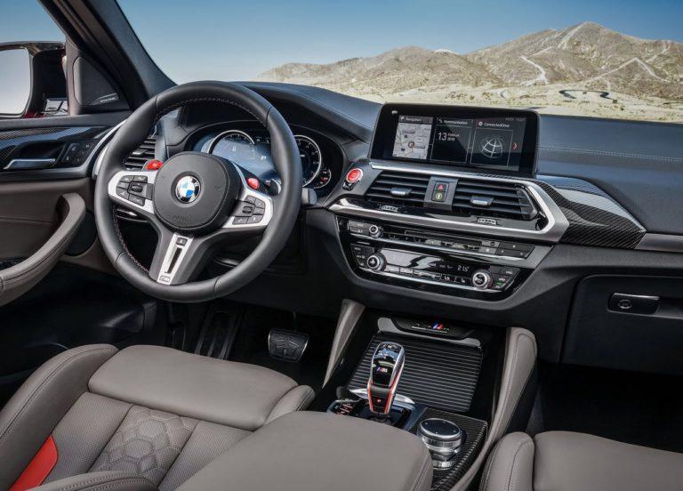 BMW X3 M и BMW X4 M мультимедиа
