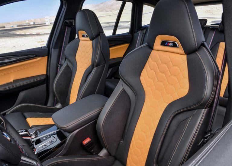 BMW X3 M и BMW X4 M передние сидения