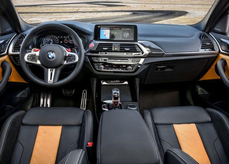 BMW X3 M и BMW X4 M салон
