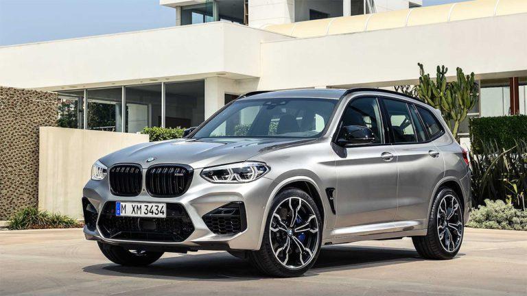 BMW X3 M и BMW X4 M спереди