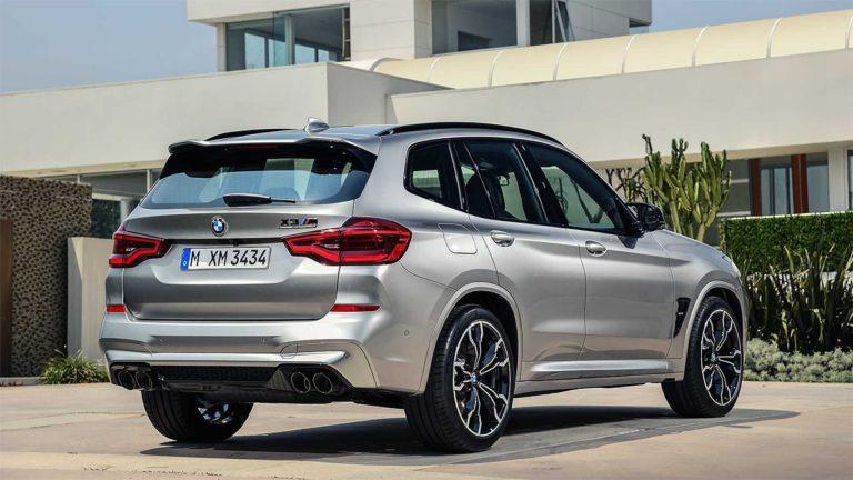 BMW X3 M и BMW X4 M сзади