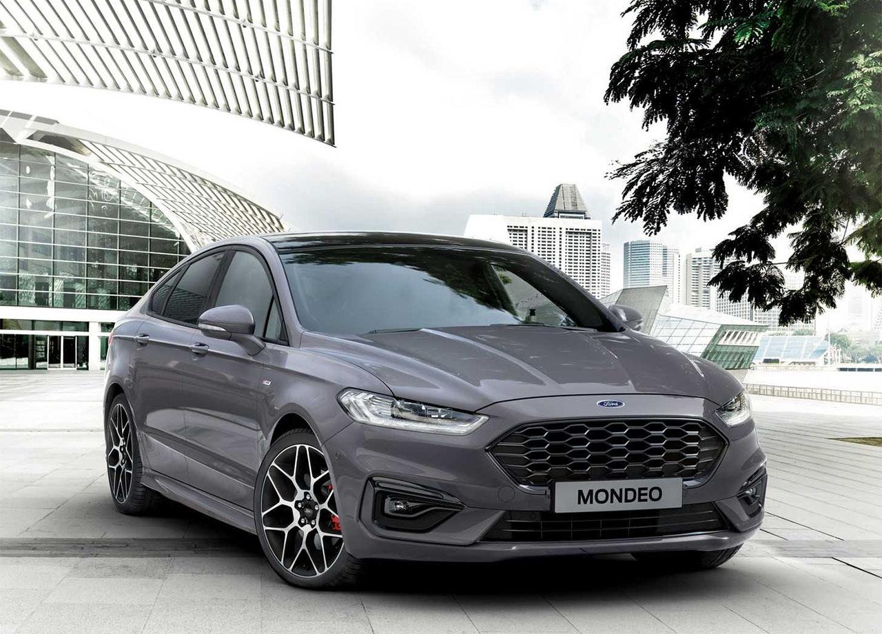 Ford Mondeo фото спереди
