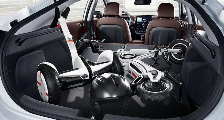 HyundaiIoniq багажник
