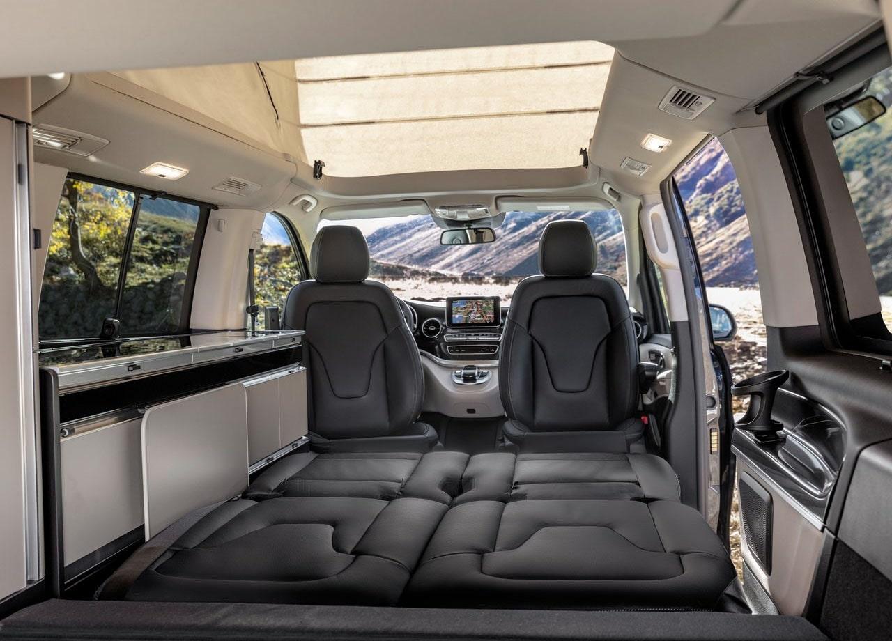 Mercedes-Benz V багажник