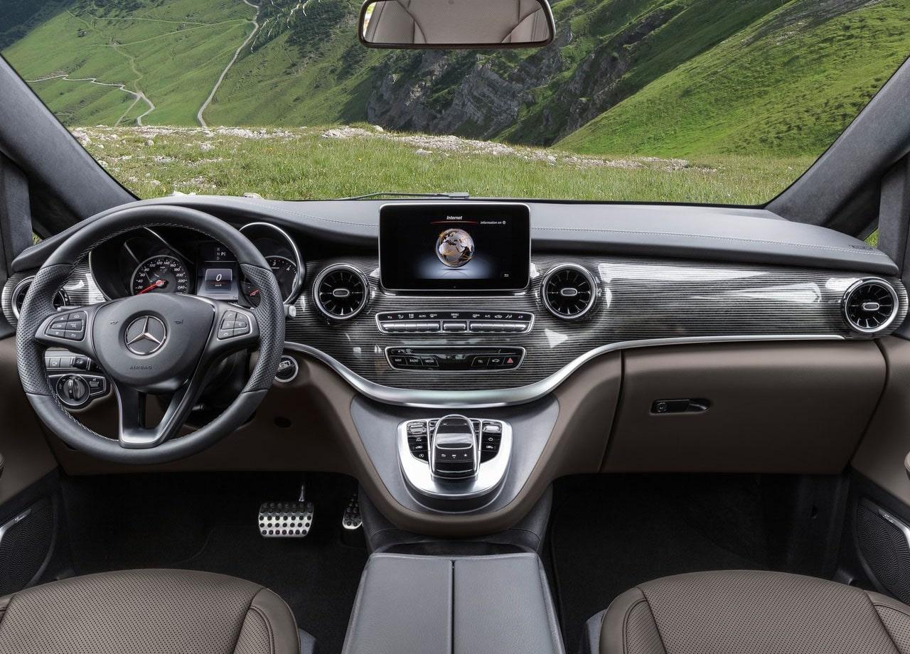 Mercedes-Benz V фото салон